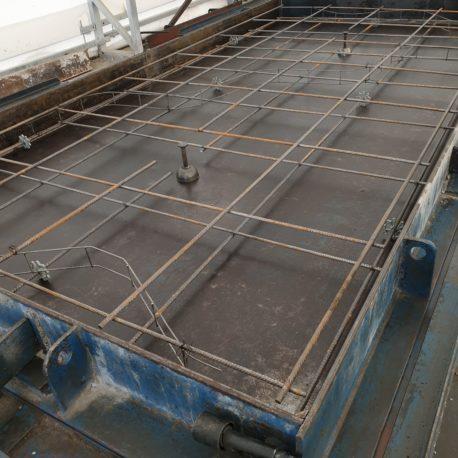 Przygotowane formy pod płyty drogowe Decor NM15.300