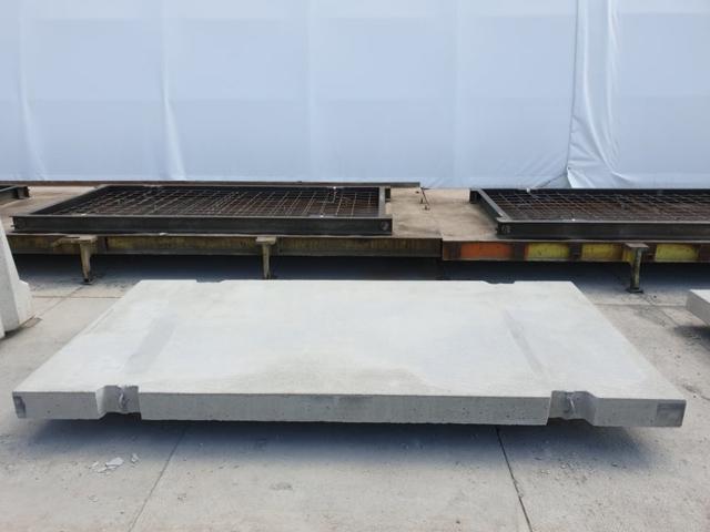 Płyta drogowa o wymiarach 300x150, powierzchnia gładka