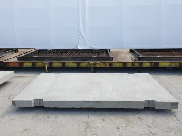 Płyta drogowa o wymiarach 300x150, powierzchnia antypoślizgowa