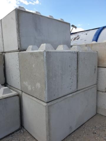 Klocki betonowe 80x80x80 oraz 80x80x160