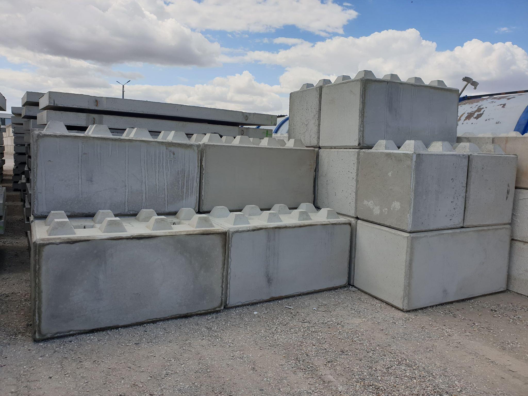 Klocki z betonu