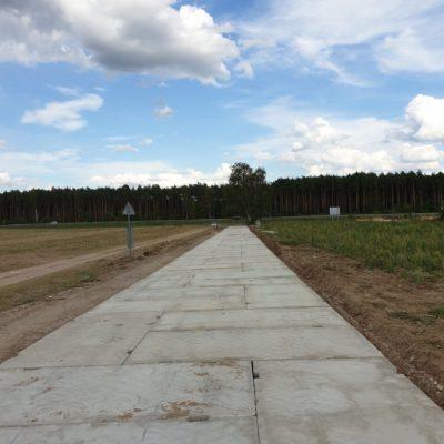 Droga w Golęczewie