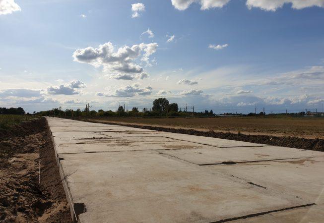 Prefabrykat betonowy o wymiarach 300x150x15