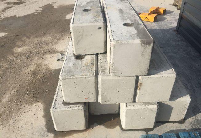 Klocki betonowe w wersji LICO, bez trzpienia