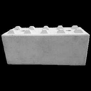 Betonblok 60x60x150, potocznie nazywany klockiem z betonu