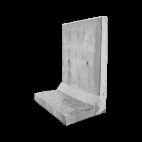 Mur oporowy typu L